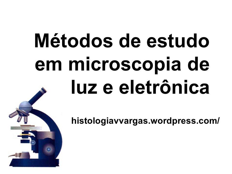 Métodos de estudo em microscopia de luz e eletrônica histologiavvargas.wordpress.com/