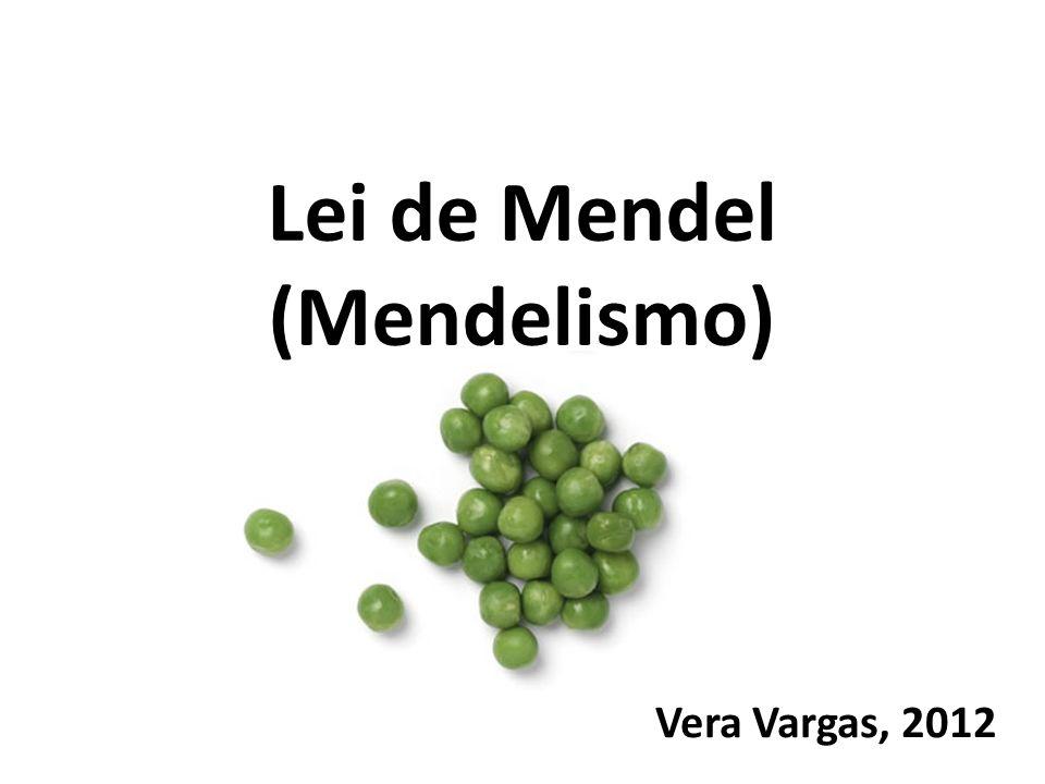 Vera Vargas, 2012 Lei de Mendel (Mendelismo)