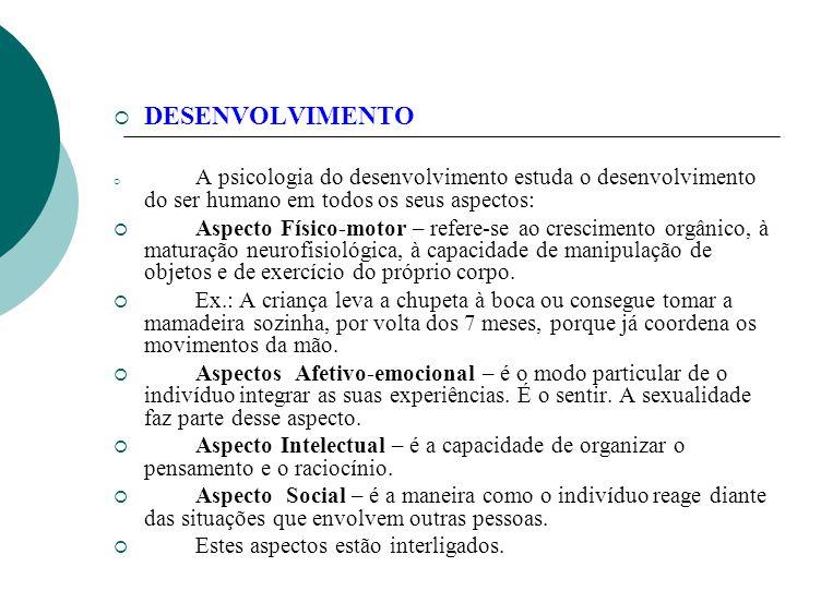 O MEIO INTRA-UTERINO E O DESENVOLVIMENTO.