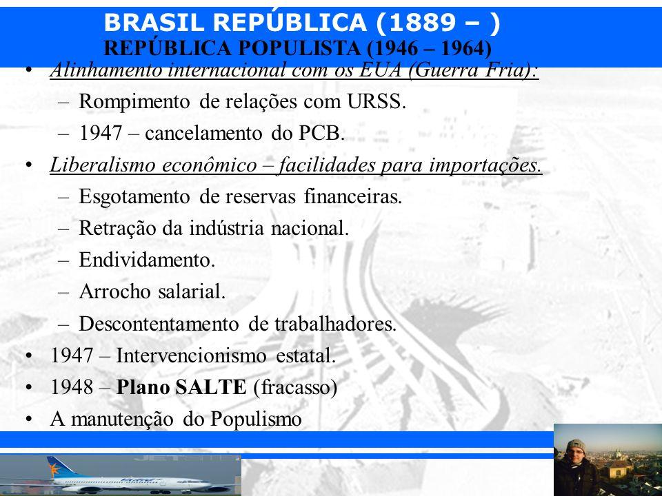BRASIL REPÚBLICA (1889 – ) Prof.