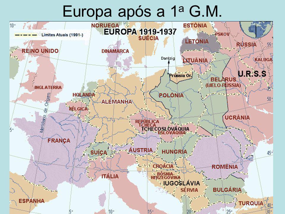 Europa após a 1 a G.M.
