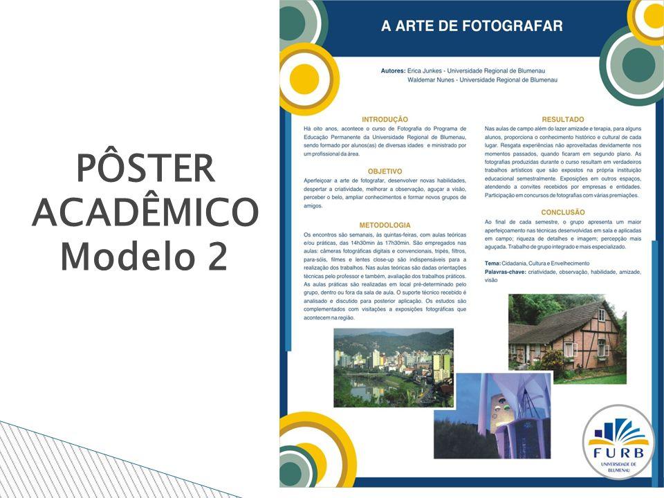 PÔSTER ACADÊMICO Modelo 2