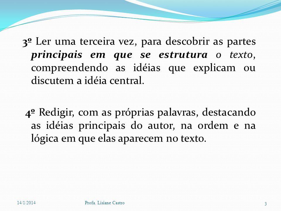 # Tipos de Resumo a)Resumo indicativo ou descritivo, quando faz referência às partes mais importantes do texto e não todas as idéias do autor.