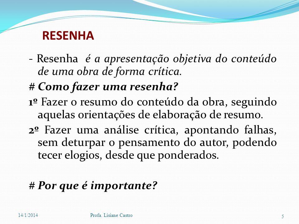 FICHAMENTO # Mas o que é um Fichamento.