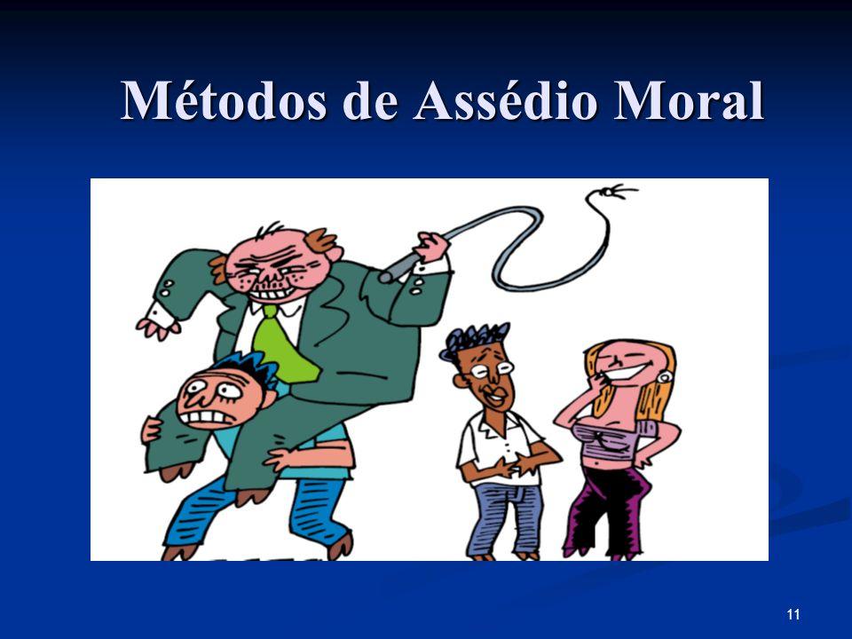11 Métodos de Assédio Moral
