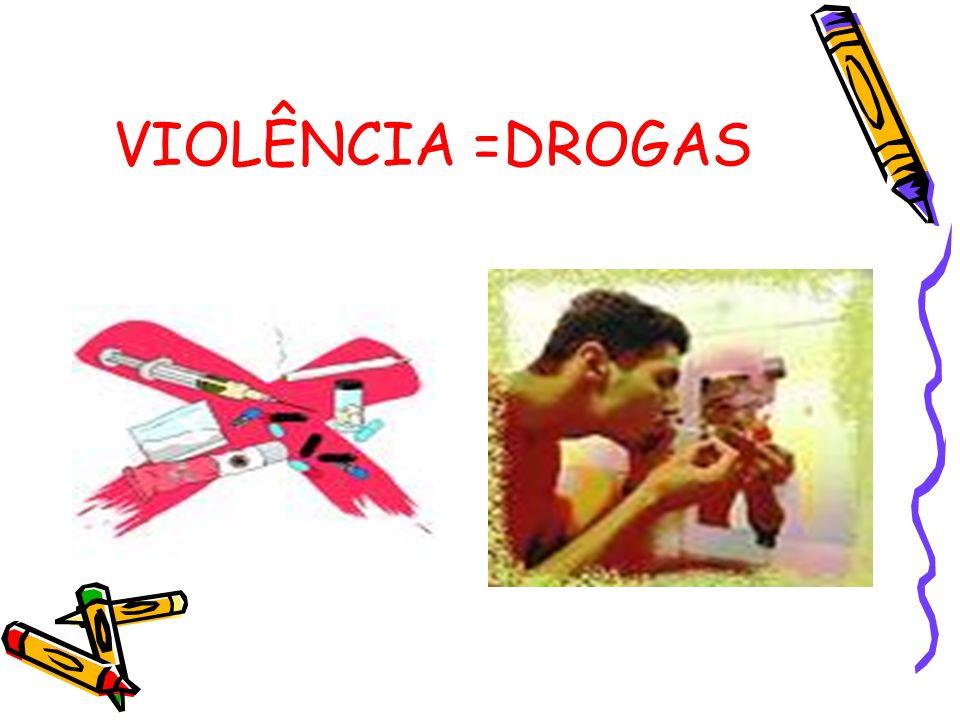 VIOLÊNCIA =DROGAS