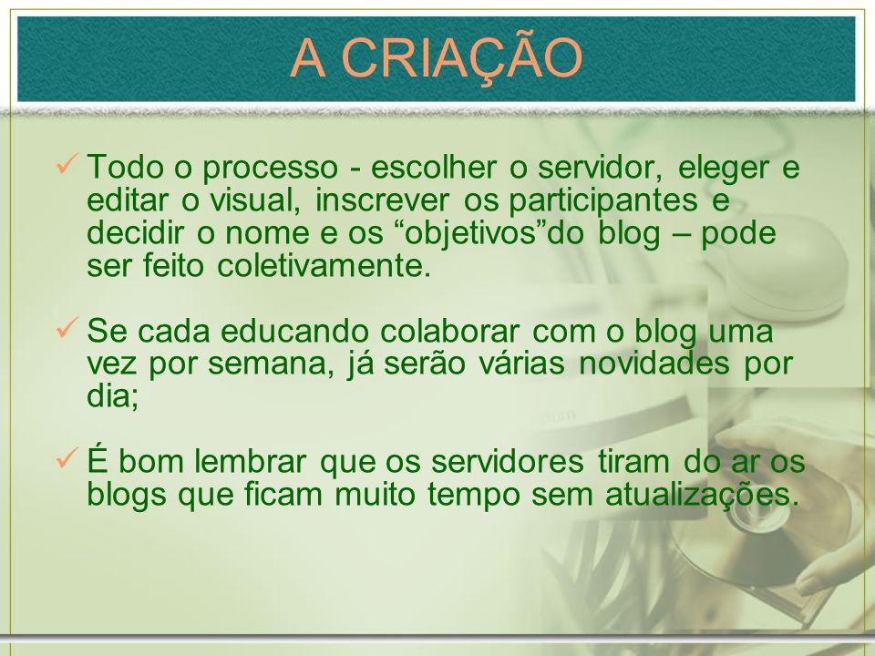 Clique em Adicionar Elemento de página. Clique em Adicionar Blog em Lista de Links.