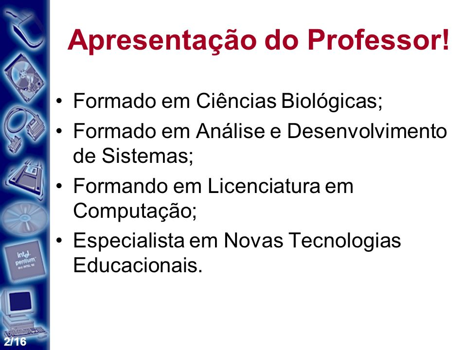 2/16 Apresentação do Professor.