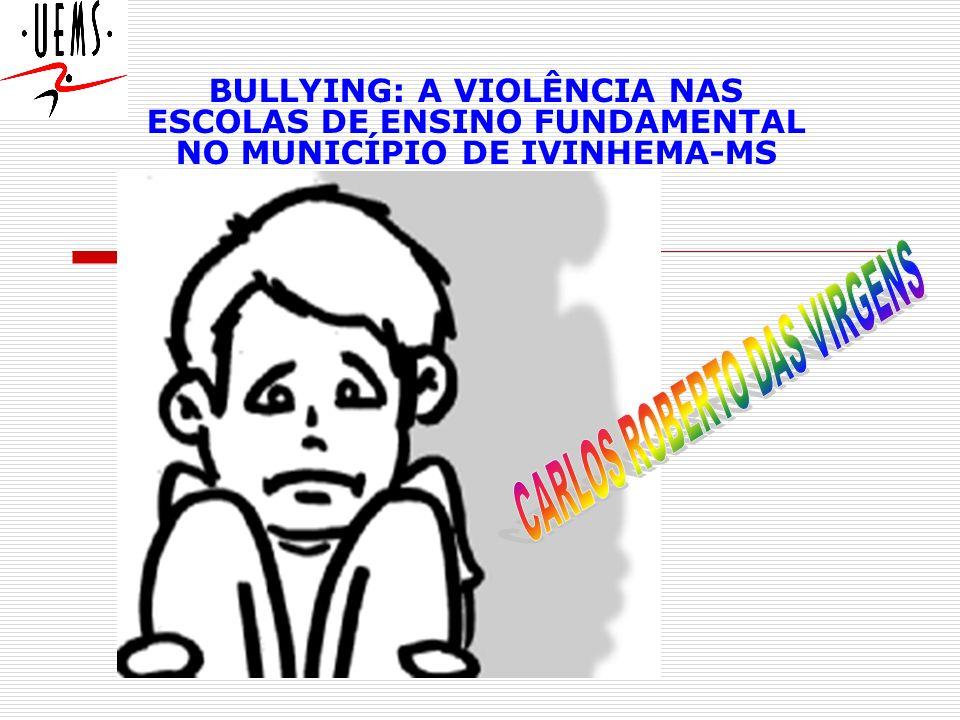 Bullying : compreende todas as formas de atitudes agressivas, intencionais e repetidas, que ocorrem sem motivação evidente, adotada por um ou mais estudantes contra outro(s).
