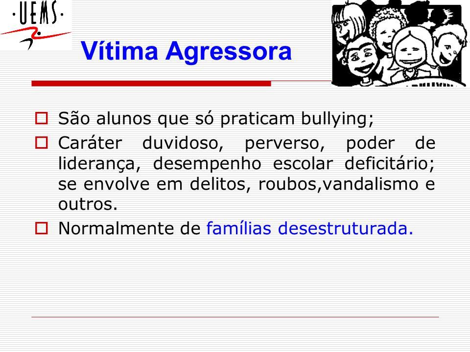 São alunos que não sofrem, nem praticam bullying, mas testemunham; Pode ser a próxima vítima ou agressor (bully).