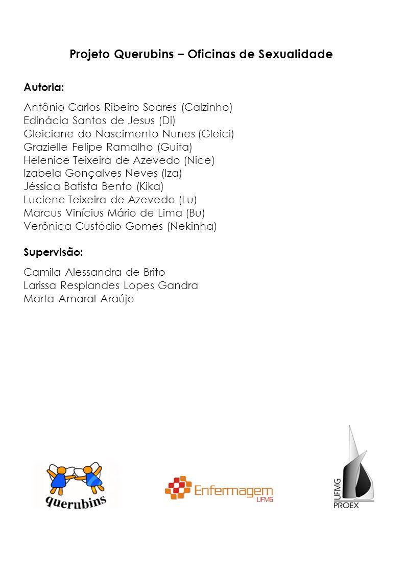 Projeto Querubins – Oficinas de Sexualidade Autoria: Antônio Carlos Ribeiro Soares (Calzinho) Edinácia Santos de Jesus (Di) Gleiciane do Nascimento Nu