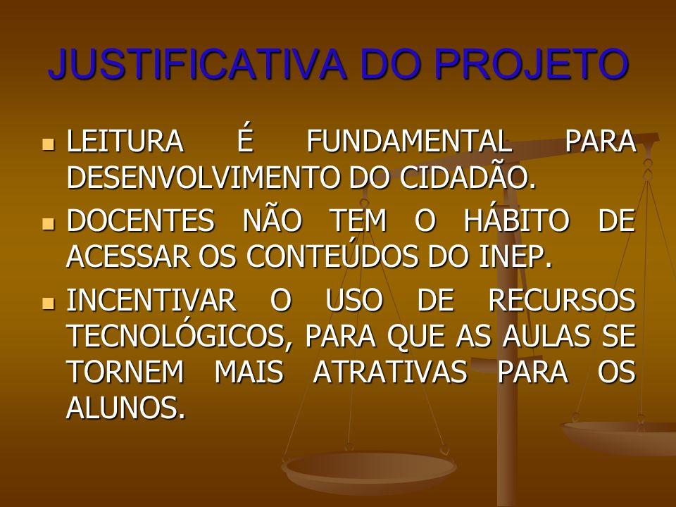METODOLOGIA CAPACITAÇÃO DA PROFESSORA REGENTE, PARA O USO DOS RECURSOS DO INEP E CRIAÇÃO DE BLOGS.