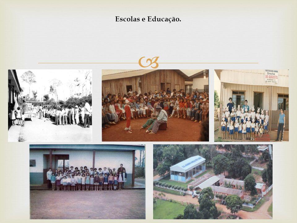 Escolas e Educação.
