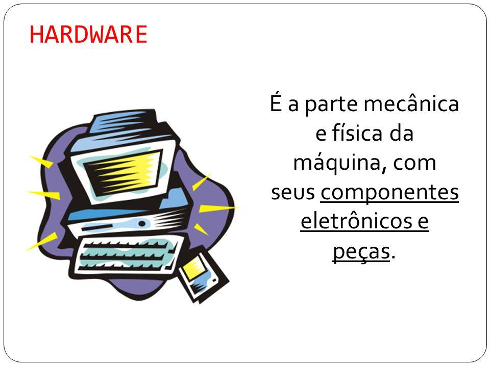 SOFTWARE São conjuntos de procedimentos básicos que fazem que o computador seja útil executando alguma função.