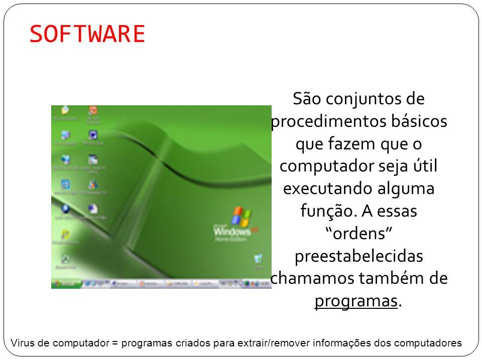 Sistema Operacional Todos os computadores necessitam de um programa para operar.