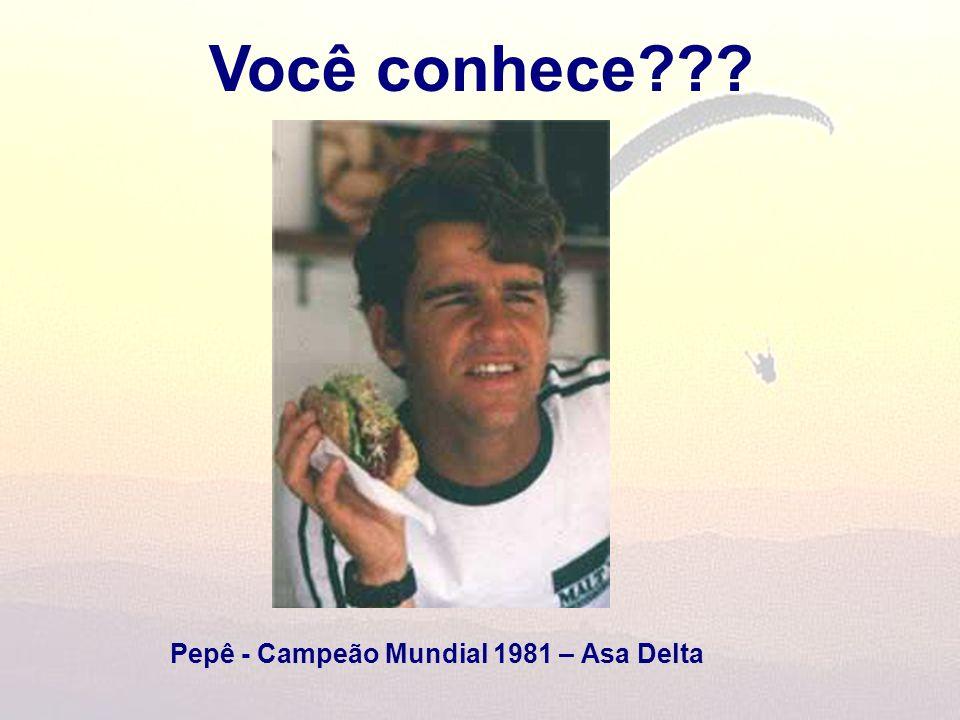 Você conhece??? Pepê - Campeão Mundial 1981 – Asa Delta