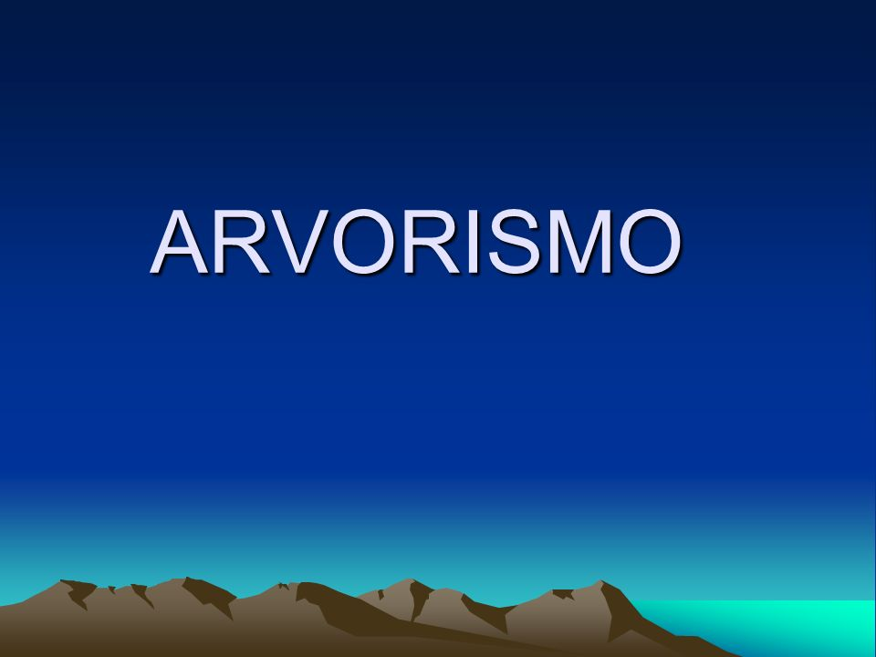 ARVORISMO