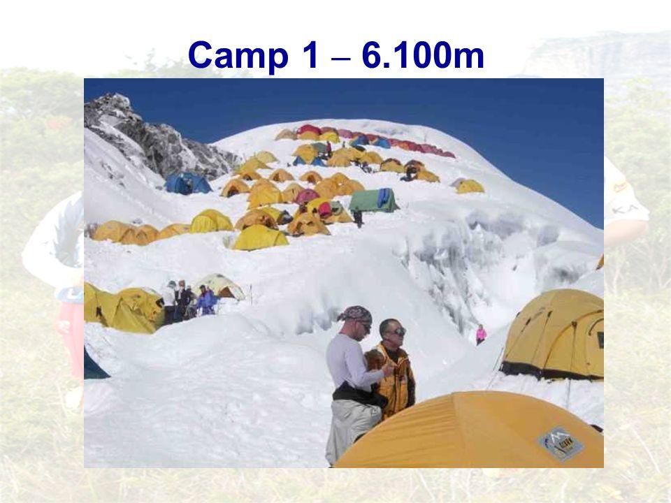 Camp 1 – 6.100m