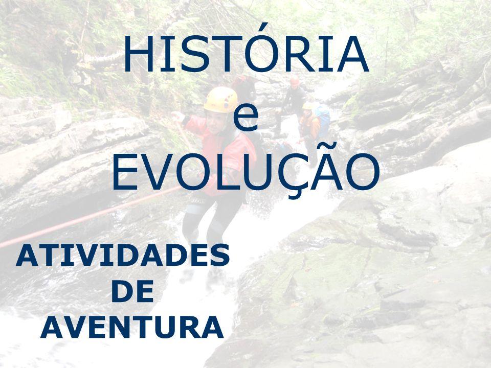HISTÓRIA e EVOLUÇÃO ATIVIDADES DE AVENTURA