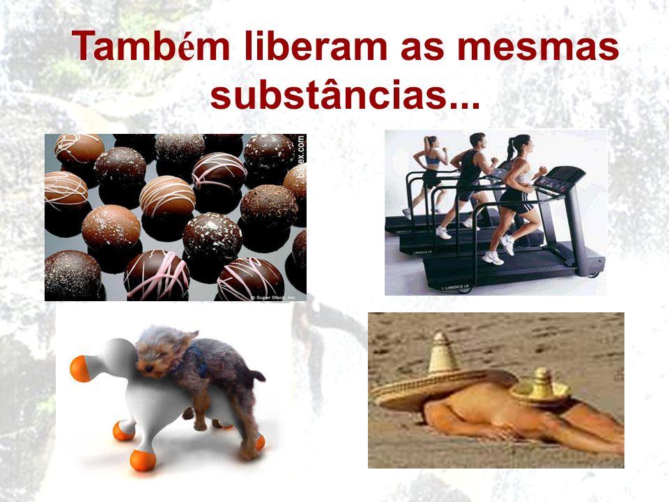 Tamb é m liberam as mesmas substâncias...
