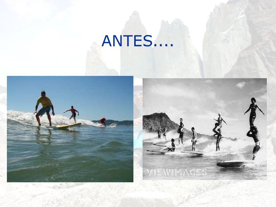 ANTES....