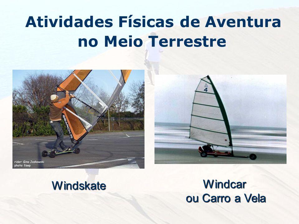 Windskate Windcar ou Carro a Vela