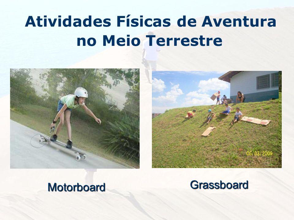 Atividades Físicas de Aventura no Meio TerrestreMotorboard Grassboard