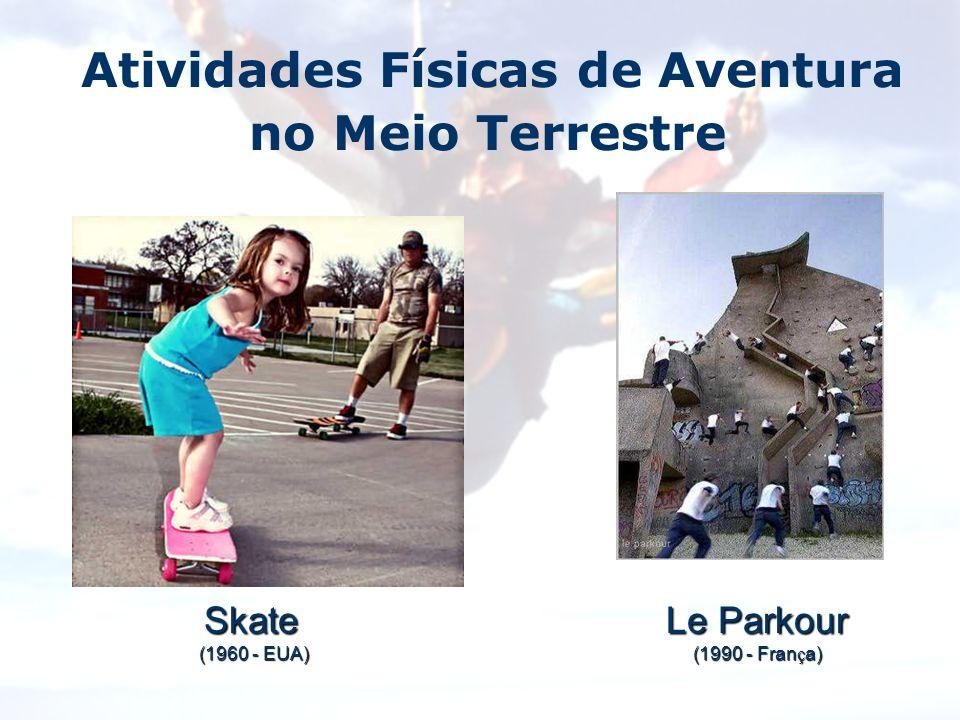 Skate (1960 - EUA) (1960 - EUA) Le Parkour (1990 - Fran ç a)