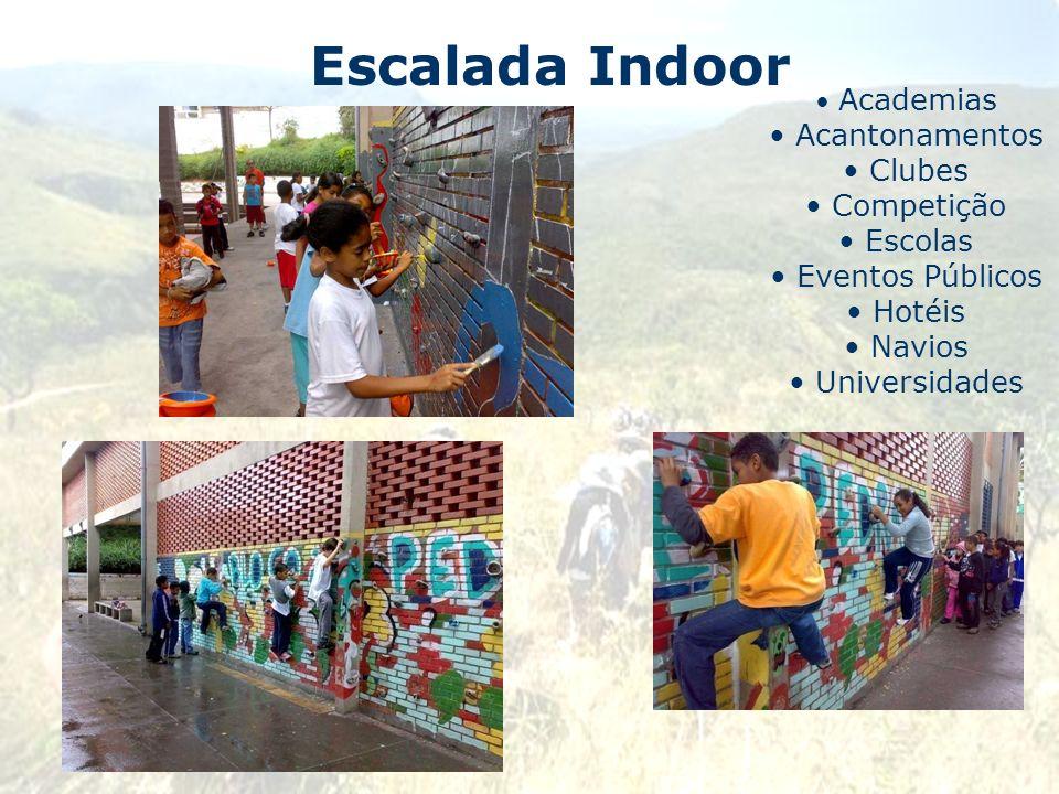 Escalada Indoor Academias Acantonamentos Clubes Competição Escolas Eventos Públicos Hotéis Navios Universidades