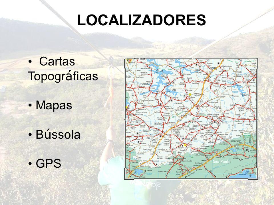 LOCALIZADORES Cartas Topogr á ficas Mapas B ú ssola GPS