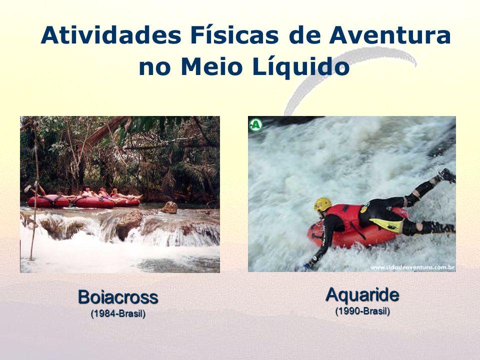 Atividades Físicas de Aventura no Meio LíquidoBoiacross(1984-Brasil) Aquaride(1990-Brasil)