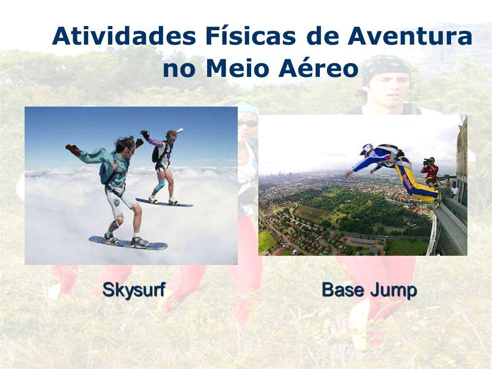 Atividades Físicas de Aventura no Meio AéreoSkysurf Base Jump