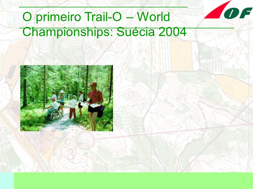 O primeiro Trail-O – World Championships: Suécia 2004