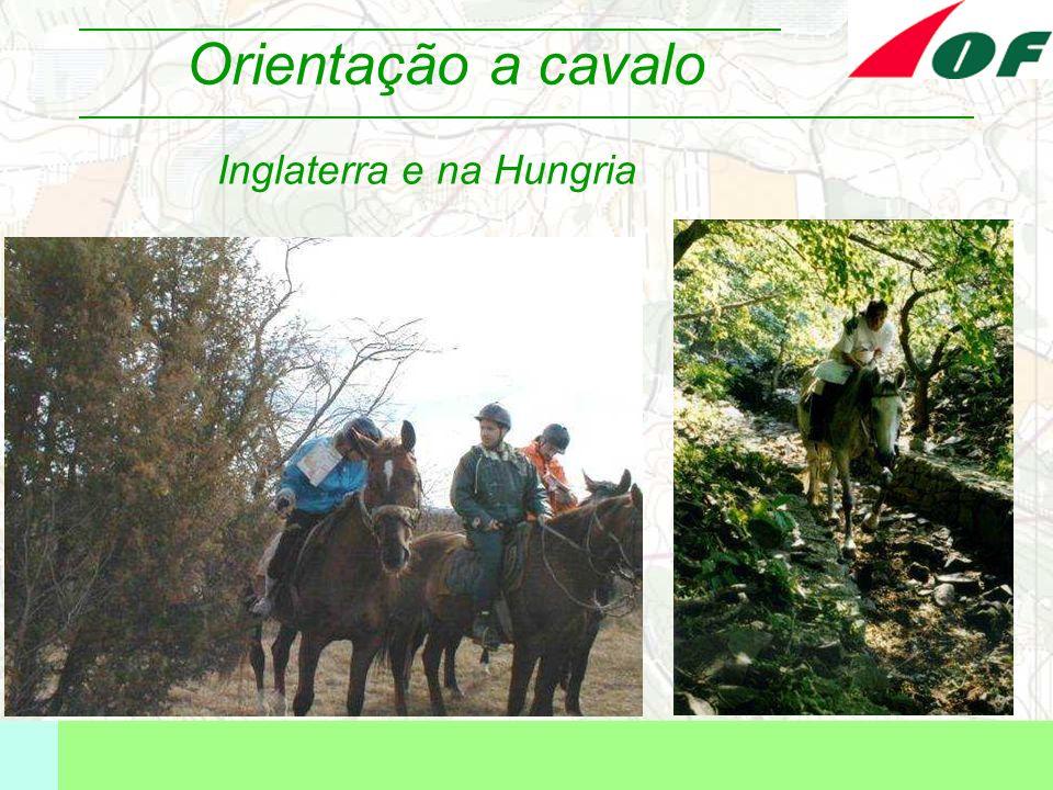 Orientação a cavalo Inglaterra e na Hungria