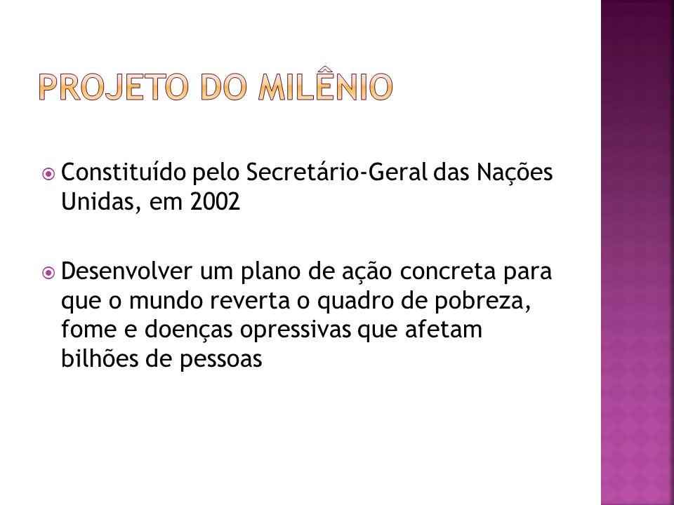 No Brasil, os dados são de 2005: 92,5% das crianças e jovens entre 07 e 17 anos estão matriculados no ensino fundamental.