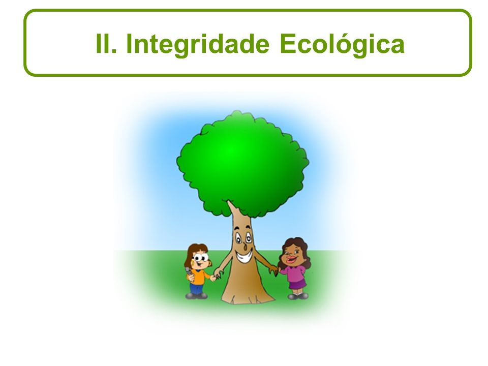 II. Integridade Ecológica