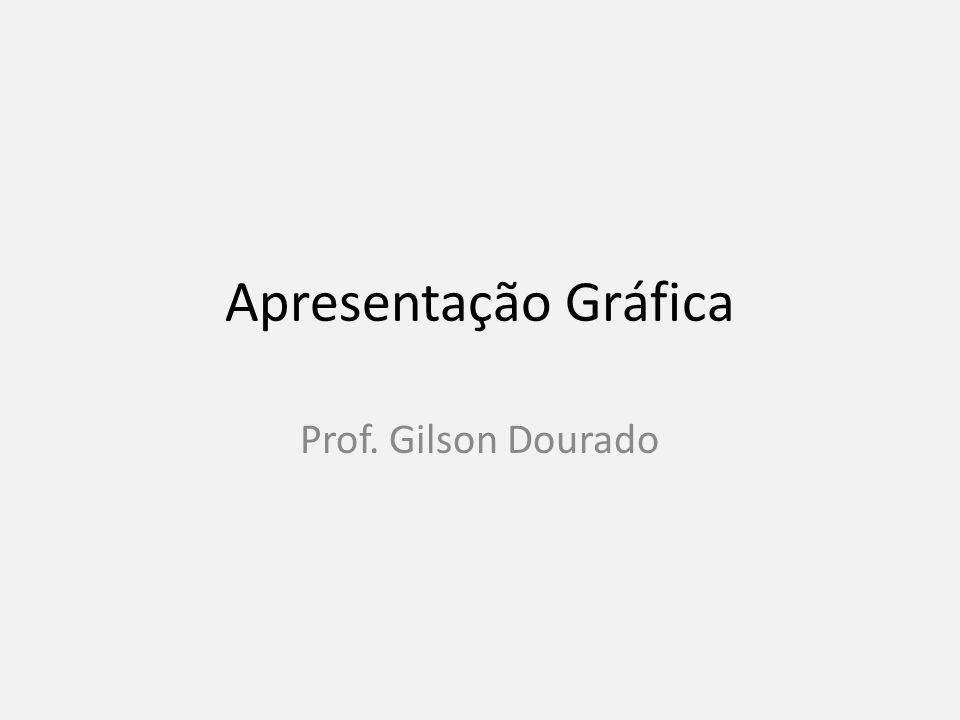 Apresentação Gráfica Prof. Gilson Dourado