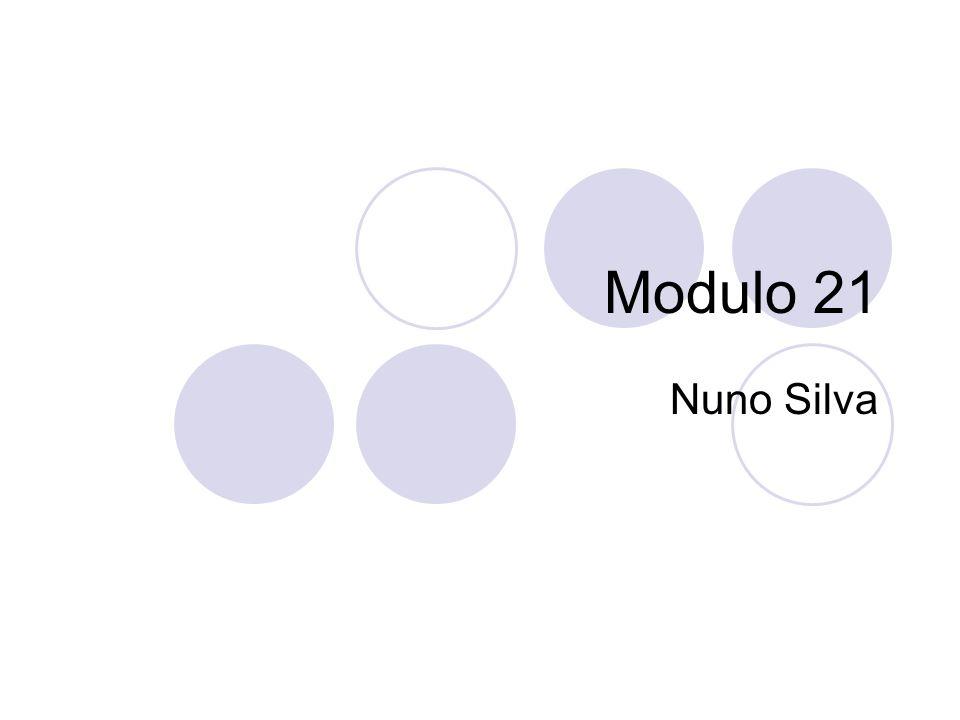 Modulo 21 Nuno Silva