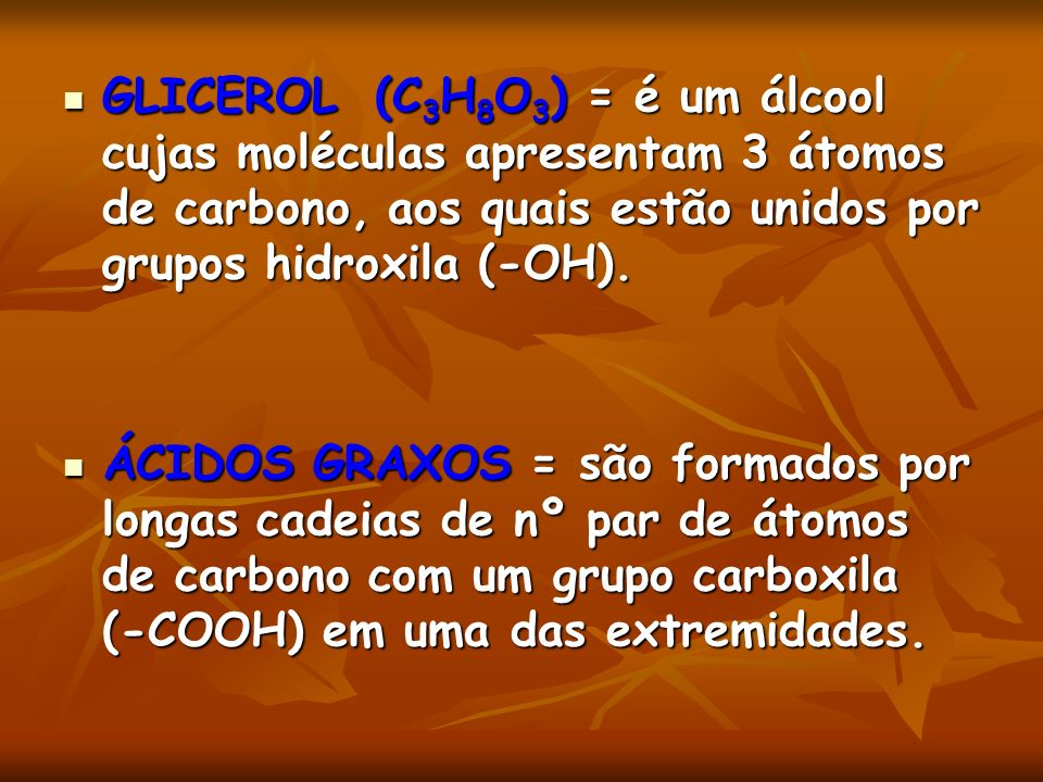 COLESTEROL Pode ser transportado no sangue associado a lipoproteínas.