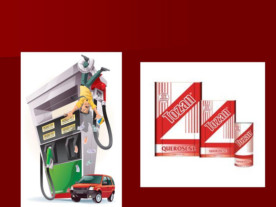 A maioria dos combustíveis de uso diário consiste em misturas de hidrocarbonetos derivados do petróleo: A maioria dos combustíveis de uso diário consi