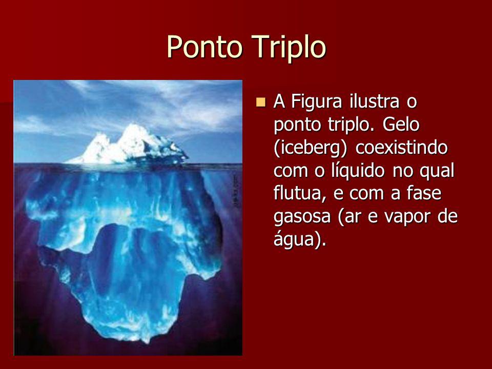 Ponto Triplo A Figura ilustra o ponto triplo.