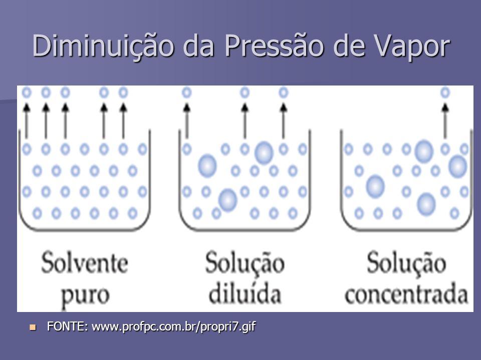 Num sistema fechado: o líquido tende a evaporar e o vapor tende a se condensar até que atinjam um equilíbrio.