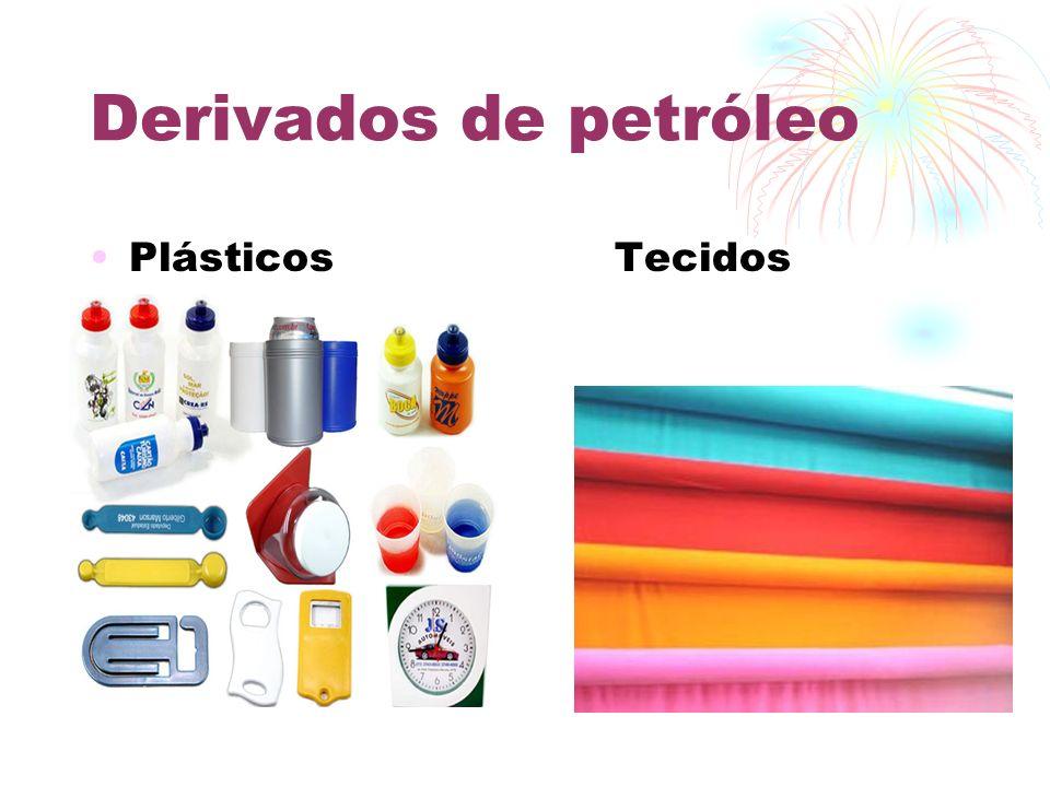 Indústria Petroquímica É ramo da indústria química que utiliza derivados do petróleo como matéria-prima para a fabricação de novos materiais.