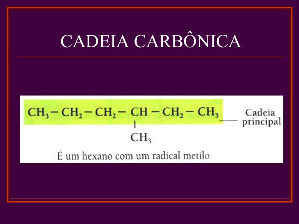 CADEIA CARBÔNICA