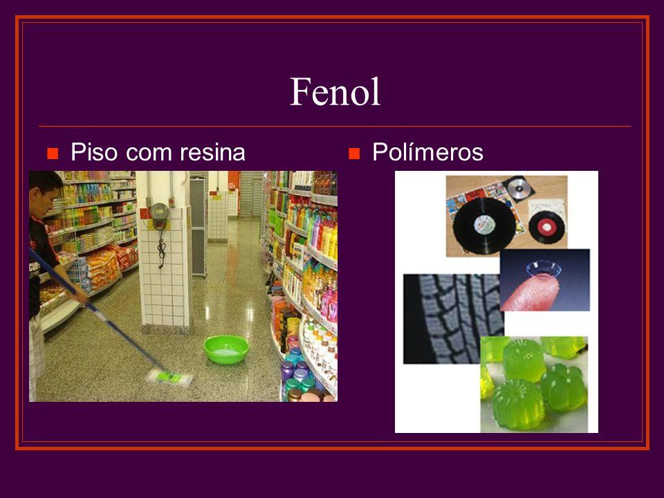 Fenol Piso com resina Polímeros