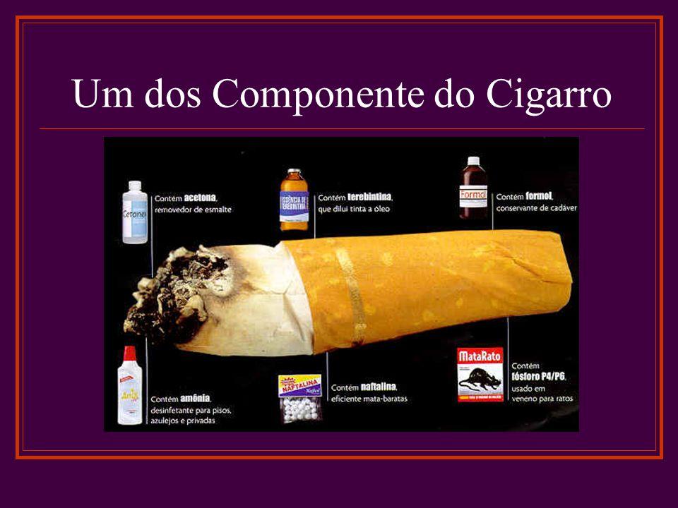 Um dos Componente do Cigarro