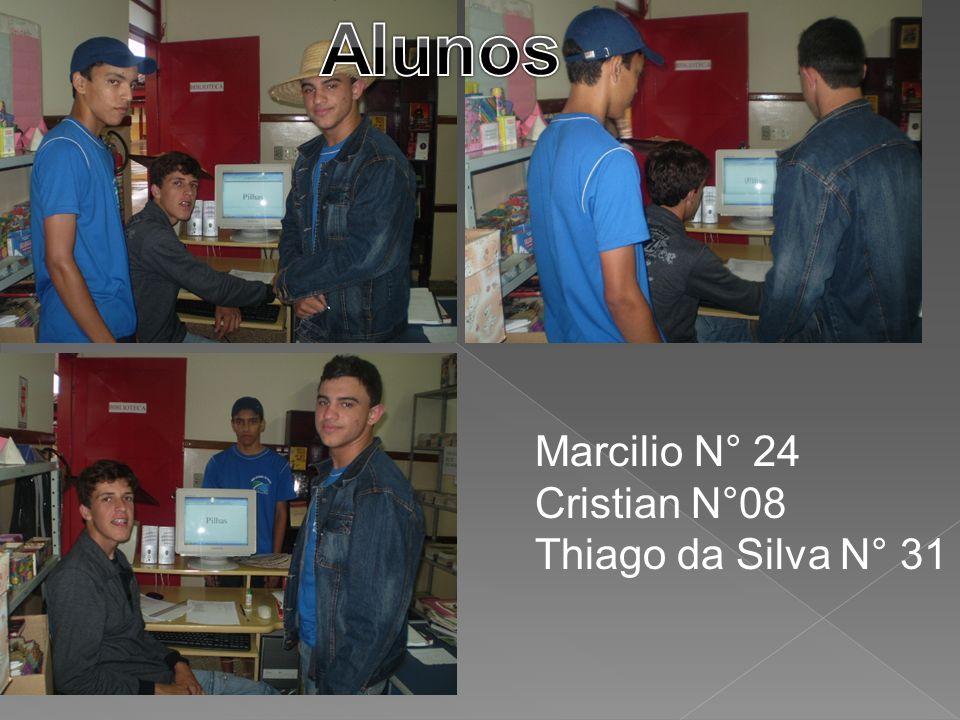 Marcilio N° 24 Cristian N°08 Thiago da Silva N° 31