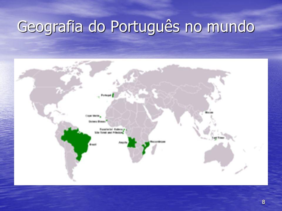 8 Geografia do Português no mundo