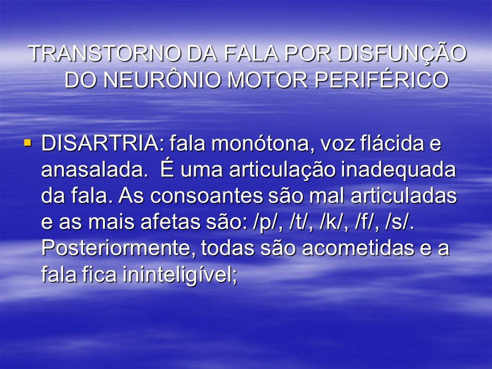 MECANISMO NEUROFUNCIONAIS DA FALA.