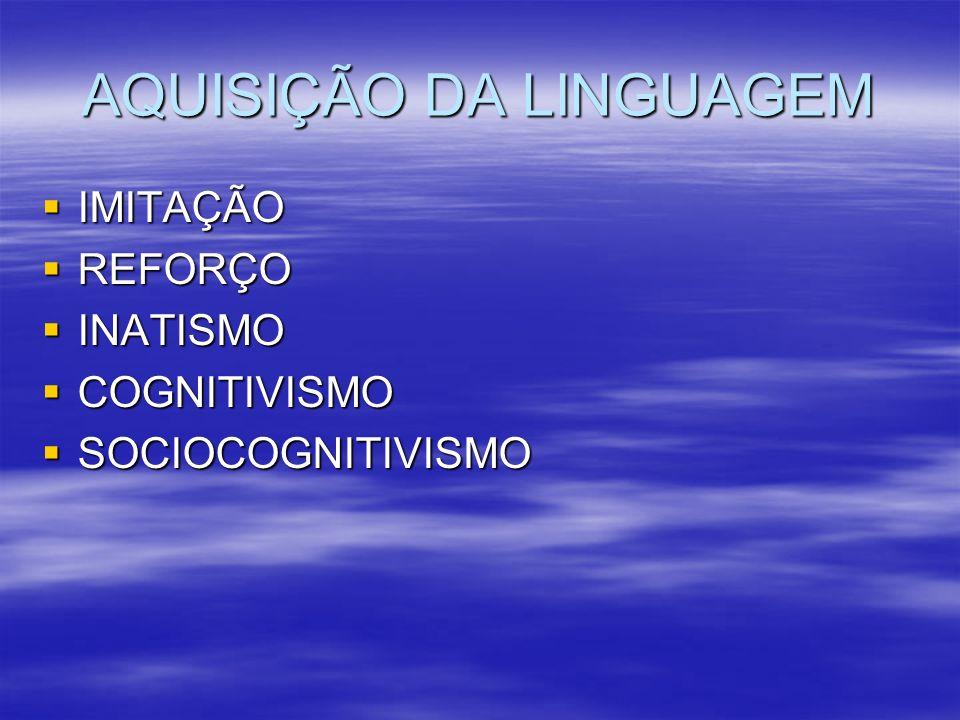 CONCEPÇÕES DE LINGUAGEM COMO REPRESENTAÇÃO (ESPELHO) DO MUNDO E DO PENSAMENTO; COMO REPRESENTAÇÃO (ESPELHO) DO MUNDO E DO PENSAMENTO; COMO INSTRUMENTO (FERRAMENTA) DE COMUNICAÇÃO; COMO INSTRUMENTO (FERRAMENTA) DE COMUNICAÇÃO; COMO FORMA (LUGAR) DE AÇÃO OU INTERAÇÃO; COMO FORMA (LUGAR) DE AÇÃO OU INTERAÇÃO; COMO PRÁTICA SOCIAL; COMO PRÁTICA SOCIAL; UMA COMUNICAÇÃO EFETIVADA ATRAVÉS DO USO DE UM SISTEMA ARBITRÁRIO DE SIGNOS VERBAIS ENVOLVIDOS NUMA TRÍPLICE ARTICULAÇÃO.